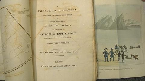"Antiques Roadshow -- S21 Ep23: Appraisal: 1819 Ross's ""Voyage of Discovery"" Book"