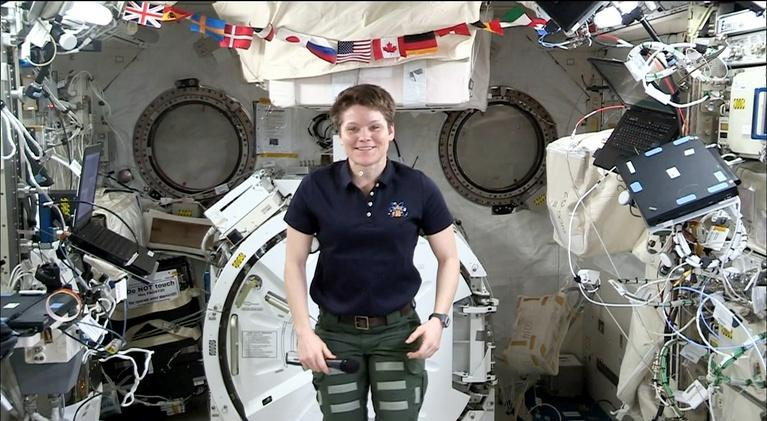 Human Elements: Gaining Perspective in Microgravity