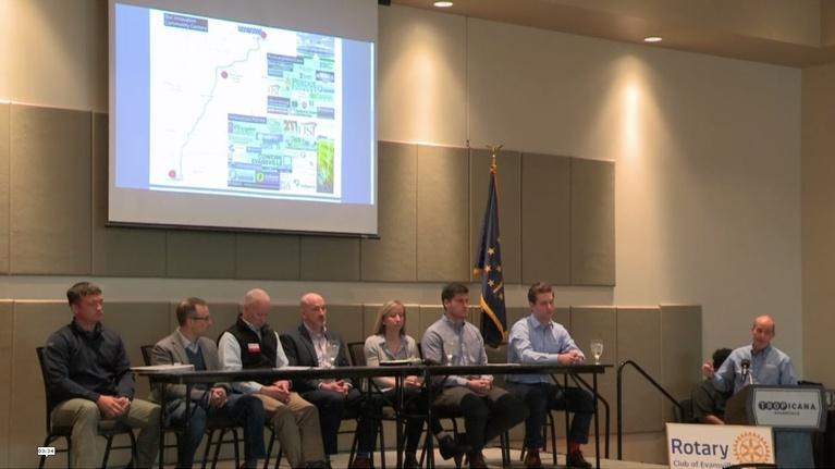 Evansville Rotary Club: Regional Voices: Evansville Entrepeneur Panel