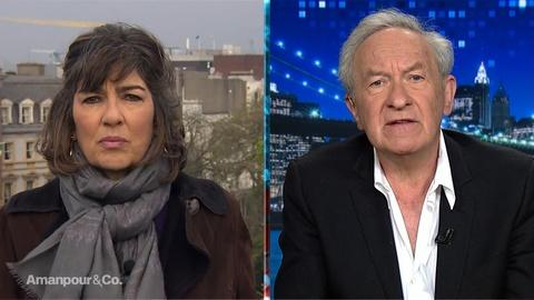 Amanpour and Company -- Simon Schama on the Importance of Notre Dame