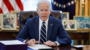 Biden to address nation after signing historic relief bill