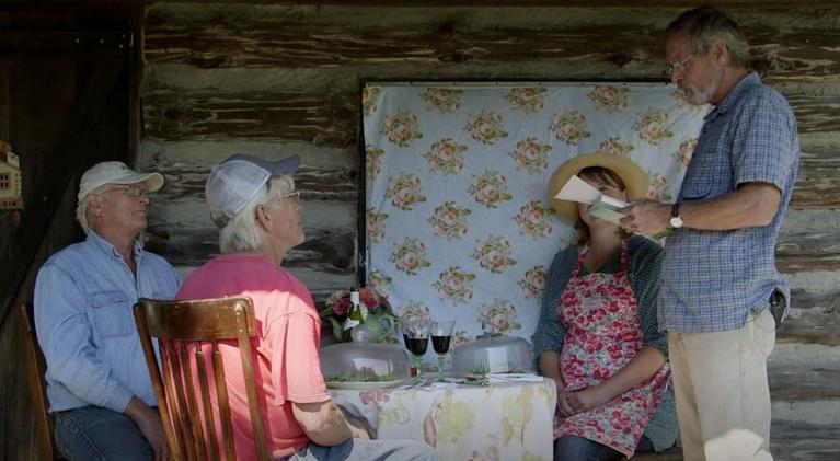 Around the Farm Table: Book Club Lunch with Author John Hildebrand