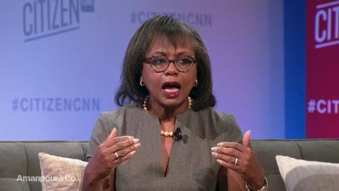 """Amanpour and Company -- Anita Hill on President Trump's Use of the Word """"Lynching"""""""