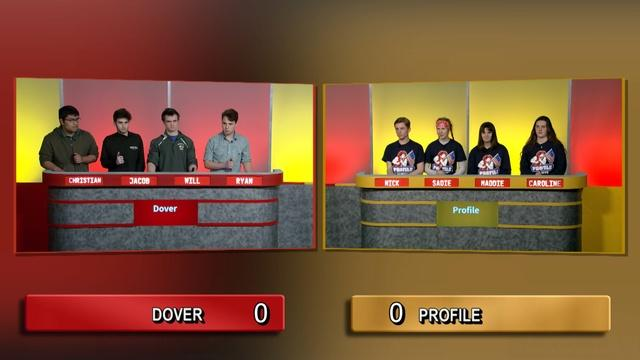 Dover High School Vs Profile High School | 2020 Wild Card