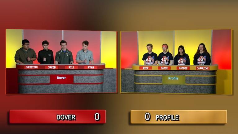 Granite State Challenge: Dover High School Vs Profile High School | 2020 Wild Card