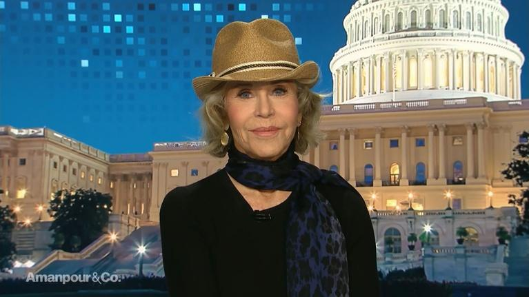 Amanpour and Company: Jane Fonda Discusses Her Climate Activism