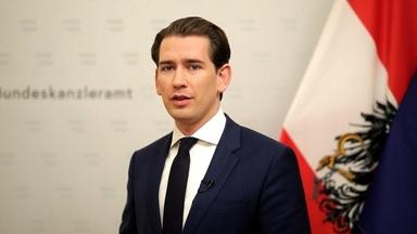 Austria's Chancellor Gives an Update on EU COVID-19 Relief
