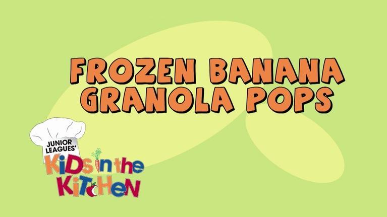ThinkTV Kids & Family: Kids in the Kitchen - FROZEN BANANAS