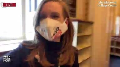 Lisa Desjardins reports from inside U.S. Capitol