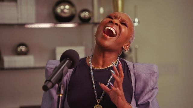 "Cynthia Erivo Performs ""Bridge Over Troubled Water"""
