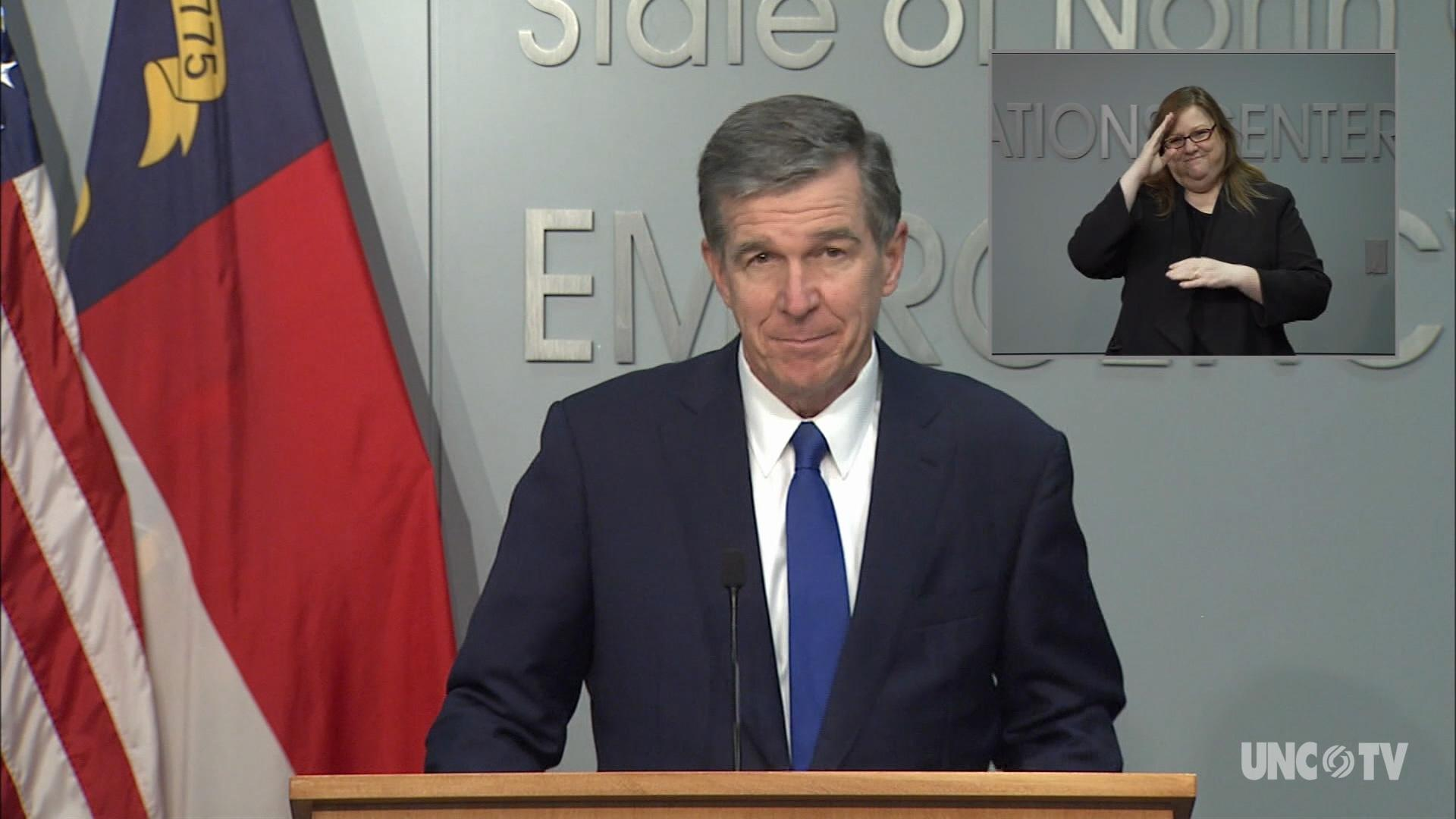 10/06/20 Governor Cooper Briefing (English)