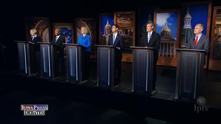 Iowa Press: Iowa Press Debates: Democratic Gubernatorial Primary