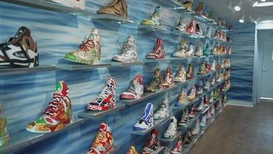 DC art exhibit inspired by the 'Great Shoe Spill of 1990'