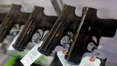 PBS NewsHour -- Public pressure on guns galvanizes Senate GOP, despite Trump
