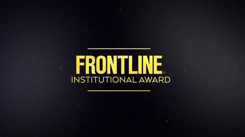 Raney Aronson-Rath on FRONTLINE Peabody Institutional Award