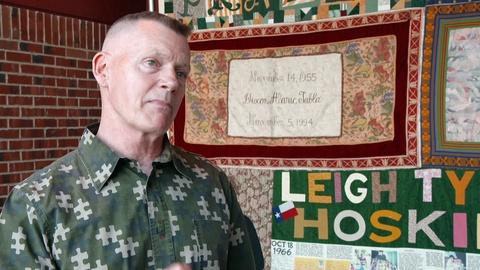 Web Extra: The Story Behind One AIDS Quilt Panel