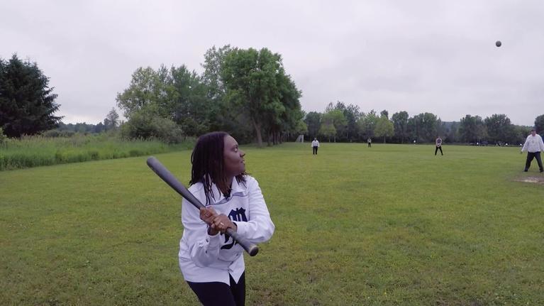 Wisconsin Life: Wis. Life Host Angela Fitzgerald Plays Vintage Baseball