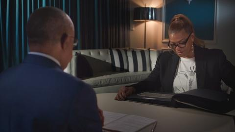 Finding Your Roots -- Queen Latifah Meets the Woman That Freed Her Ancestors