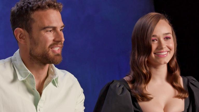 Sanditon: Ballroom Dancing with Theo James & Rose Williams