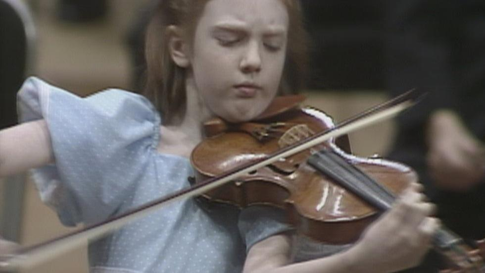 Web Extra: Rachel Barton Pine CSO Debut (1985) image