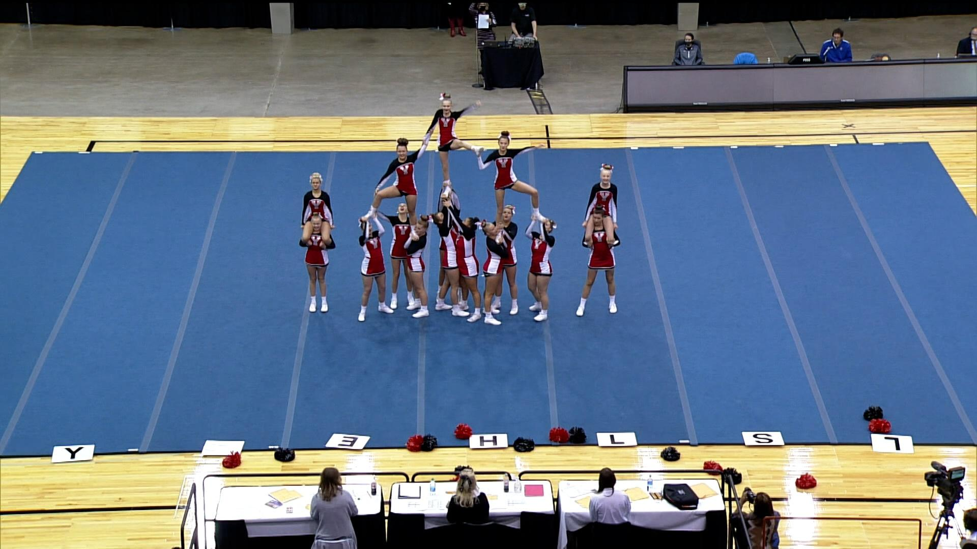 2020 Class AA Cheer and Dance Competition Part 2