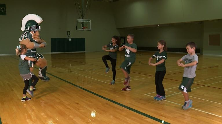 WKAR Family: Sparty Time! Exercise Fun with Kids