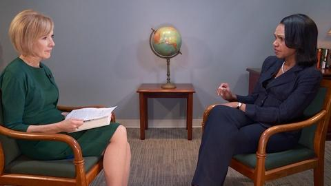 PBS NewsHour -- Condoleezza Rice: Amid Russia investigation, we should have