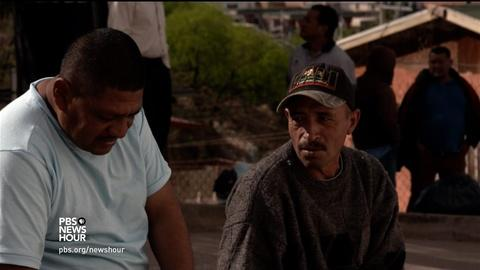 PBS NewsHour -- Deported to Mexico, these men feel lost in a country they no