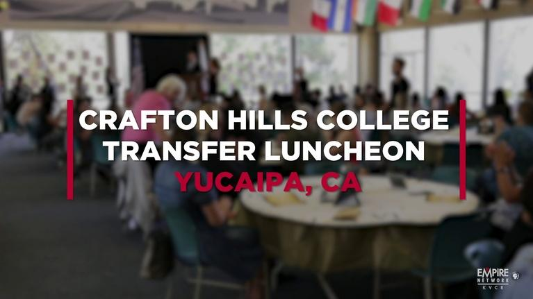 State of the Empire: Crafton Hills College Transfer Luncheon