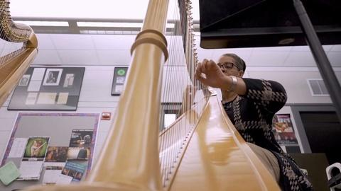American Black Journal -- Cass Tech Harp and Vocal Program