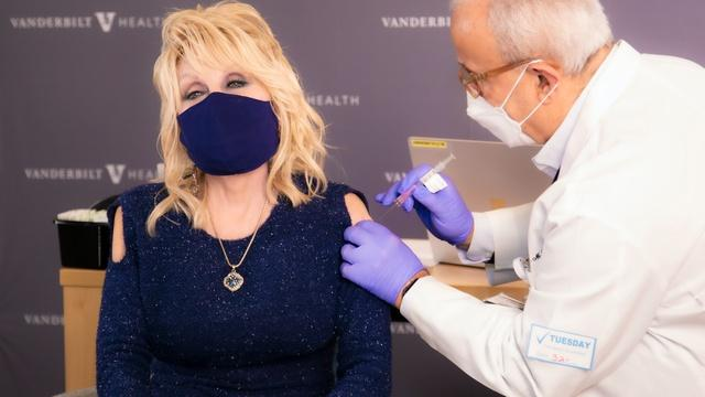 Dolly Parton on why everyone should get vaccinated