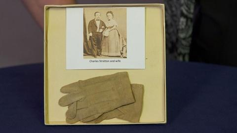 Antiques Roadshow -- Appraisal: General Tom Thumb's Gloves, ca. 1866