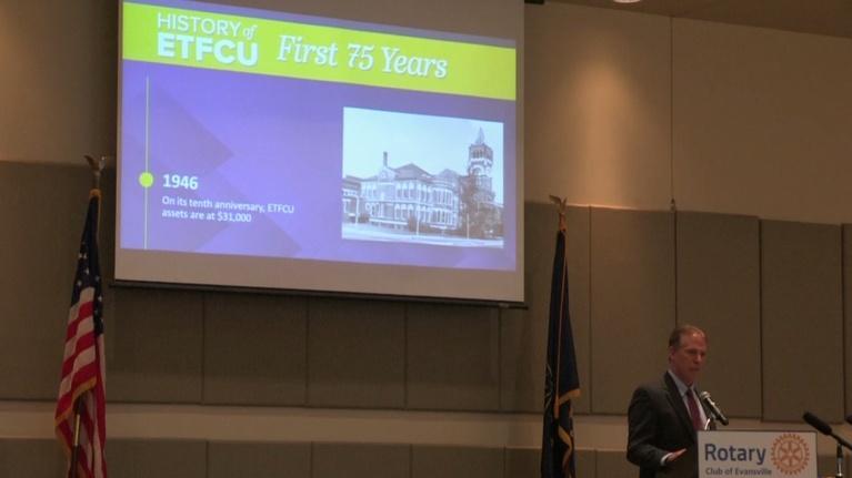 Evansville Rotary Club: Regional Voices: Bill Schirmer, ETFCU
