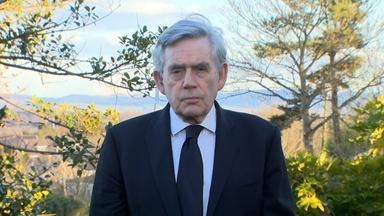 Former UK PM Gordon Brown on Vaccines, Prince Philip