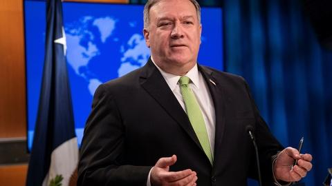 Pompeo says he didn't know fired IG was investigating him