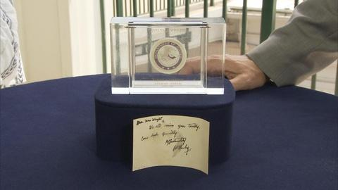 Antiques Roadshow -- Appraisal: 1964 Robert F. Kennedy-inscribed Card with Box