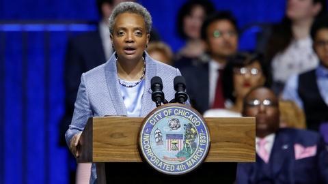 PBS NewsHour -- Chicago's mayor on racial disparities in COVID-19 data