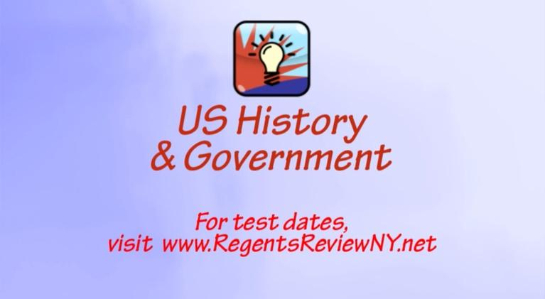 Regents Review: US History & Government