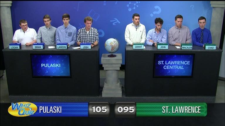 Whiz Quiz: Pulaski vs. St. Lawrence Central