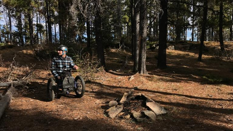 PBS NewsHour: Paralyzed outdoorsman designs bike to cycle woods again