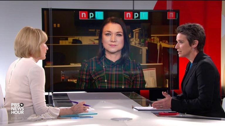 PBS NewsHour: Tamara Keith and Amy Walter on impeachment trial, Iowa polls