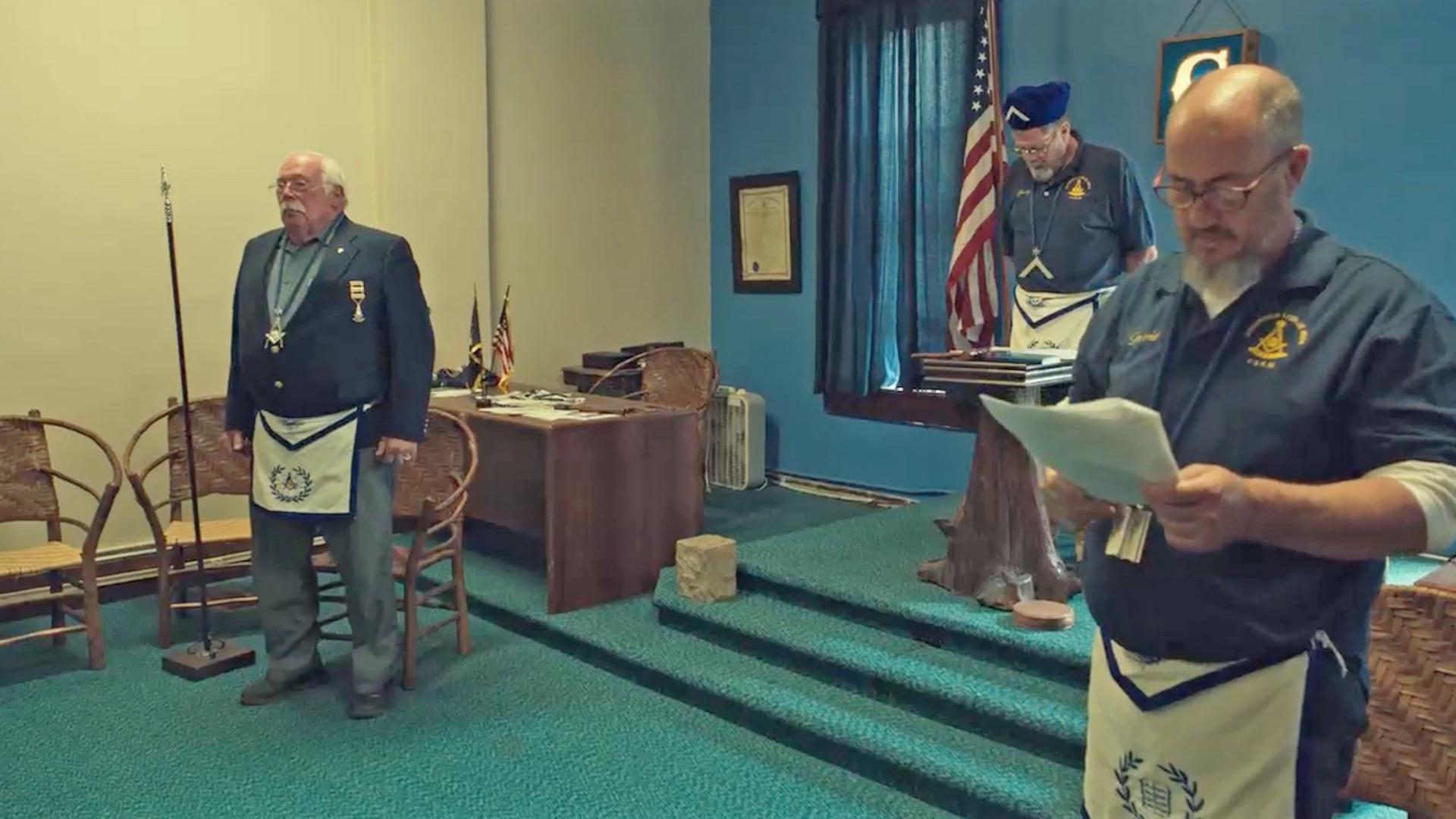 Freemason Ceremony