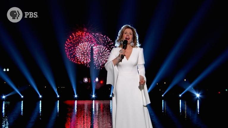 """A Capitol Fourth: Renée Fleming Performs """"America the Beautiful"""""""