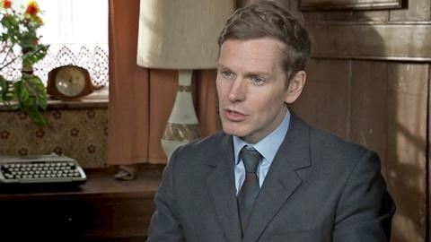 """Endeavour -- Shaun Evans on Directing """"Oracle"""""""