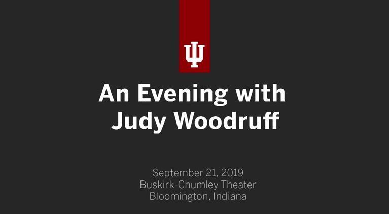 WTIU Specials: An Evening with Judy Woodruff