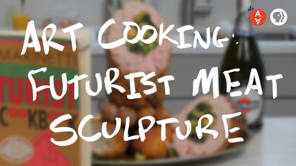 Art Cooking: Futurist Meat Sculpture image