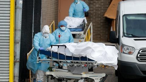 U.S. facing 2-front war amid medical and economic crises