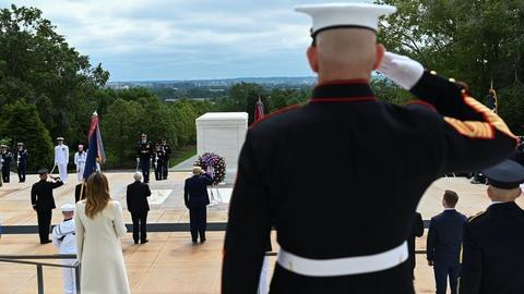 An uninterrupted watch at the Tomb of the Unknown Soldier