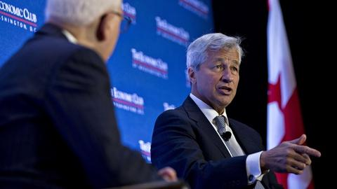 Jamie Dimon Interview Excerpt