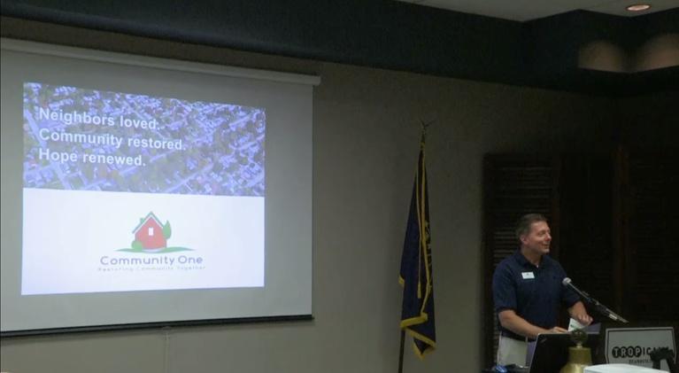 Evansville Rotary Club: Regional Voices: Eric Cummings, Neighborhood Revitalization